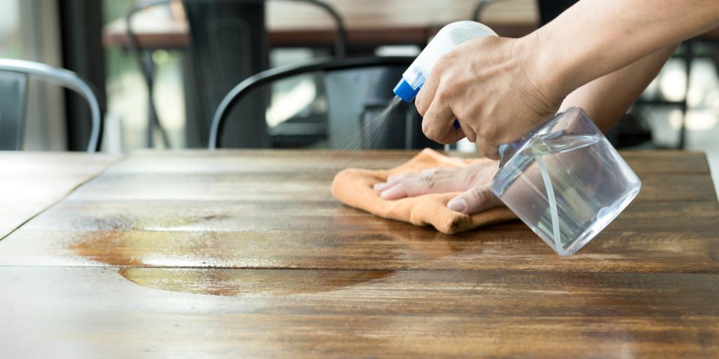 Дезинфекция деревянных поверхностей